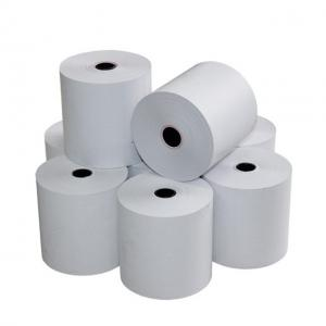 China POS Bpa Free Paper Rolls , 57mm 58mm Thermal Paper Rolls ISO9001 Certificated on sale