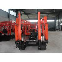 High Efficiency Mobile Water Well Drilling Rigs / Hydraulic Water Well Drilling Machine