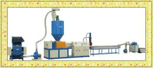 China Water Cooling Hot Cutting Plastic Recycling Machines 22kw 380V 68-135kg/h on sale