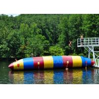 Red / Blue / Green Inflatable Water Pillow Water Floating Launch Toy