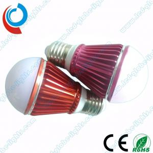 China 560 - 680 Lumens Aluminum 6063 PC Cover 7W SMD LED Light Bulbs with Colored Housing on sale