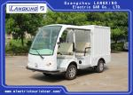 4 Person Electric Transportation Vehicles , Electric Delivery Cart With Closed Box