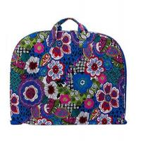 Quilted Zippered Garment Bags Cloth Dust Cover Cotton Floral Paisley
