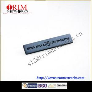 China Alloy 50*10mm HVB pearl nickle metal rectangular plate on sale