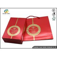 China Customized Printed Paper Wine Packing Gift Box Wholesale Paper Wine Boxes on sale