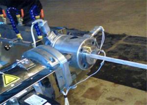 China La cortadora del tubo del PVC/la fibra automáticas trenzadas reforzó la manguera del PVC que hacía la máquina on sale