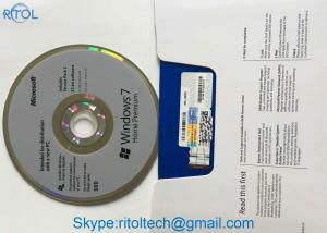 China Online Activation Windows 7 Ultimate Dvd , Multi Language Original Windows 7 Professional License Key on sale
