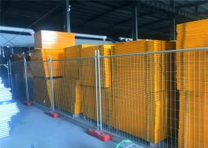 China Pre - Galvanized Tube And Mesh Panel Portable Temporary Fence Panel For Cheapest Optional on sale