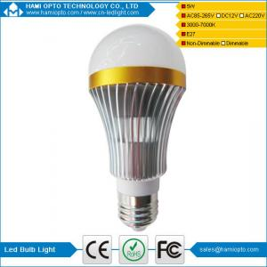 China Best Quality Aluminium body milky cover E27 5w led bulb light on sale