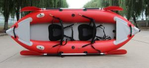 China Red Inflatable Kayak boat 370 on sale