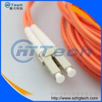 China China Fiber Optic Patch Cord Supplier LC-LC Fiber Optic Patch Cord Multimode on sale