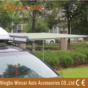 China camping tent accerrories rolling up car awning for out door use WAWNING001 on sale
