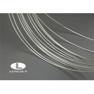 China AgCu Copper Wire Insulation / Electrical Fine Silver Wire For Contact Points on sale