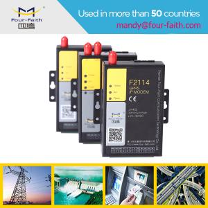 China F2114 Industrial 3g modem for transparent data transmission supply 5 I/O on sale