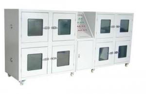 China IEC62133 Battery Testing Equipment , 8 Door Stainless Steel Explosion Proof Test Chamber on sale