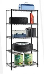 China Easy Installation Trinity Wire Shelving , NSF Metal Shelving High Strength on sale