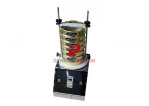 China 220V 50Hz Laboratory Sieve Shaker Machine 300mm Diameter Electronic Test Soil on sale
