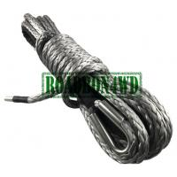 12 strand blue synthetic atv/utv winch cable/rope for tractor tug winch lines