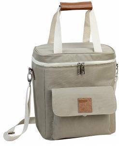 China Resuable 6 Pack Beer Cooler Bag , Insulated Wine Cooler Tote Bag OEM Design on sale