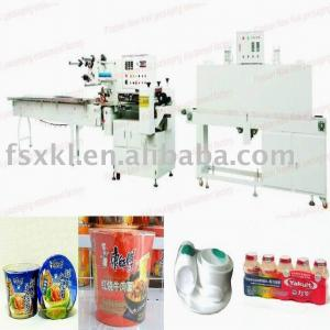 China plastic sheet shrink-pack packaging machine on sale