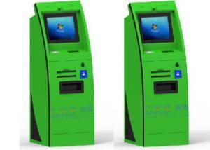 China Slim Curve A4 Laser Printer Self Service Kiosk With Passport Scanner / Webcamera on sale
