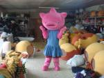China Pig Mascot Adult Cartoon Character Costume for Ceremonies wholesale