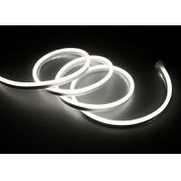 White 12v Neon Flexible Lights, Mini Size Flexible Led Neon Rope Light
