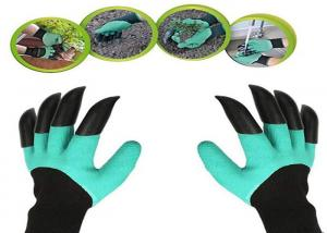 China Durable Thorn Proof Gardening Gloves , Protective Gardening Gloves With Claws on sale