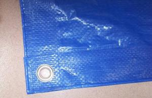 China blue color high density uv resistant custom tarps for boat cover .lorry cover. on sale