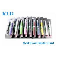 China 510 thread Evod battery Blister Pack E Cig Huge vapor , Replacement coil Vaporizer on sale