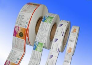 China Heat Sensitive Adhesive Paper Stickers , Adhesive Label Paper For Protective Film on sale