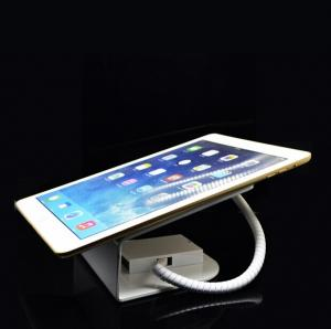 China COMER Metal retail shop display security alarm tablet holder with charging on sale