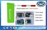 IP54 Automatic Barrier Gate 24V DC Backup Battery Built-in RS 485