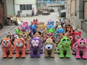 China Promotion! Amusement entertainment rides animal control vehicle battery walking animals on sale