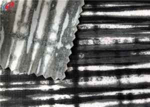 China Sexy Sports Bra Nylon Spandex Fabric Stretch Knitted Panty Fabric Anti - Pilling on sale