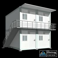 Granny Flat House Container Modular Homes Corrosion Resistance