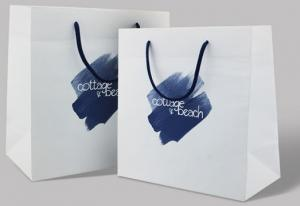 China Cheap Custom Printed Luxury Retail Paper Shopping Bag, Low Cost Paper Bag, Color Paper Bag Supplier on sale