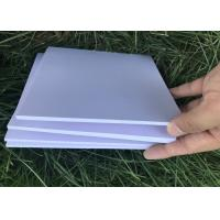 China Thin Lightweight Pvc Hard Foam Board , Pvc Decorative Sheet Fade Resistant Printing on sale