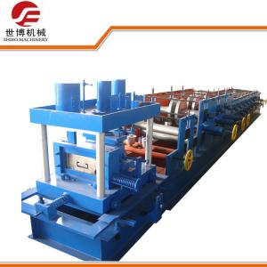 China Professional Construction CZ Purlin Roll Forming Machine C80 - C300 With Size Adjustable on sale