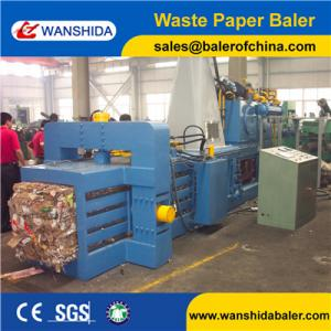 China Y82W-50A 2-4ton/h capacity China Waste Paper Balers Supplier to baler news paper and PET bottoms with conveyor belt on sale
