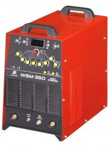China DC Inverter Arc Welding Machine WSM-350 inverter DC pulse TIG welder on sale