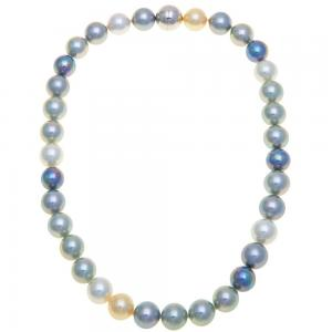 China Ball Shape Magnetic Therapy Jewelry Necklace With Magnetic Pearl Beads on sale