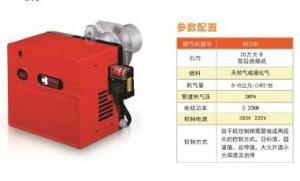 China 200000Kcal To 1000000Kcal Dual Fuel Gas And Oil Burner Grain Dryer Heat Provider on sale