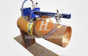 China Portable Pipe CNC Cutting Robot on sale