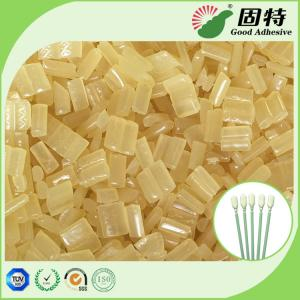 China Yellow Block Industrial Hot Melt Glue , Disposable Cotton Swab Hot Melt Pellets on sale