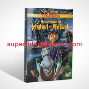 China The Adventures of Ichabod and Mr. Toad Disney DVD Cartoon DVD Movies DVD Wholesale on sale