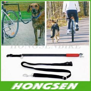 China HS-D01 Running retractable China dog training bike leash walking bike dog leashes on sale