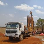 600m 219kw Trailer Mounted Water Well Drilling Rig