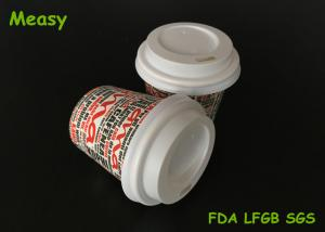 China Small 4oz Disposable Paper Cup Lids / Coffee Cup Cover Free Sample Eco Friendly on sale