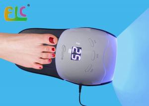 China Rainbow 4 LED Nail Dryer 48W Gel Manicure Light UV LED Manicure Lamp Slipper Shape on sale